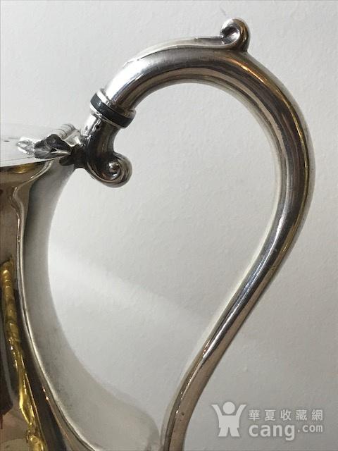 7003 英国谢菲尔德镀银茶壶图3