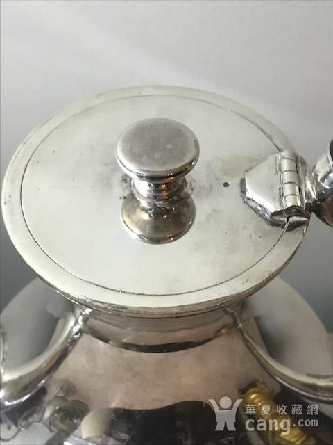 7003 英国谢菲尔德镀银茶壶图4