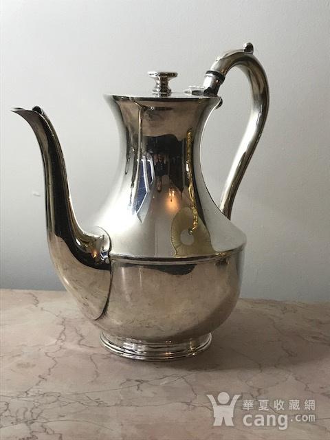 7003 英国谢菲尔德镀银茶壶图5