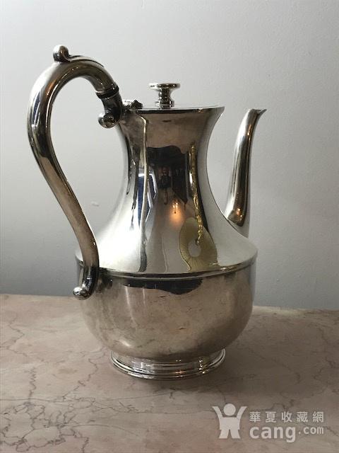 7003 英国谢菲尔德镀银茶壶图6