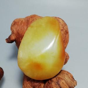 和田籽玉原石 玉质极为熟润