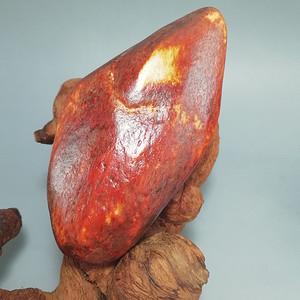 和田玉枣红皮 籽玉原石
