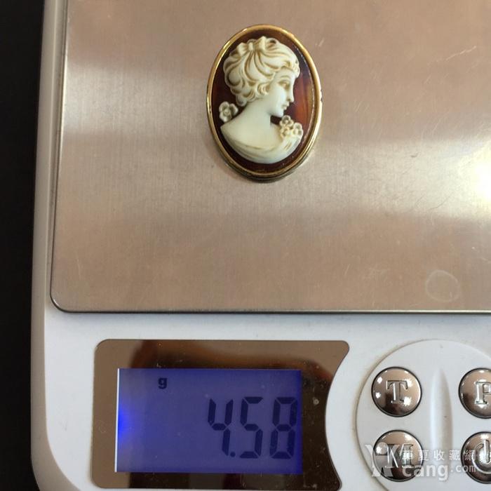 8035欧洲回流人物雕件胸针图8