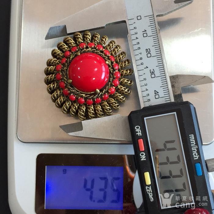 8036欧洲回流铜胸针图9
