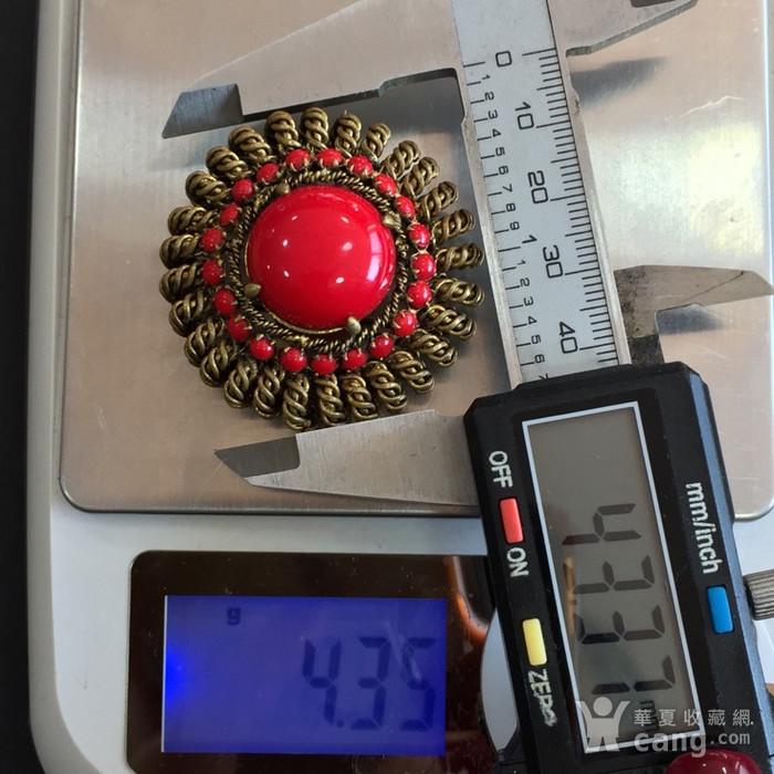 8036欧洲回流铜胸针图10