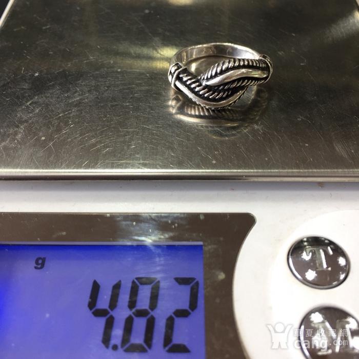 8047欧洲回流老银戒指图7