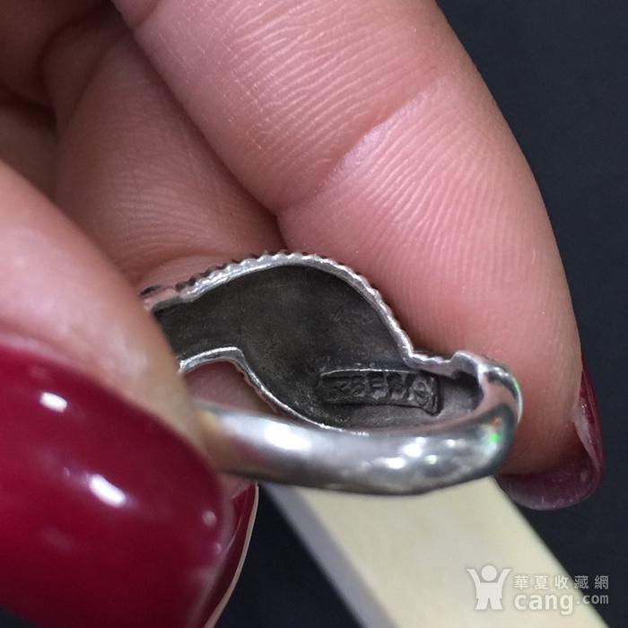 8047欧洲回流老银戒指图5