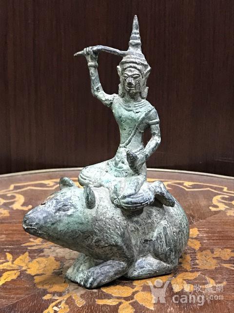 7017 十九世纪南亚造像财神图1