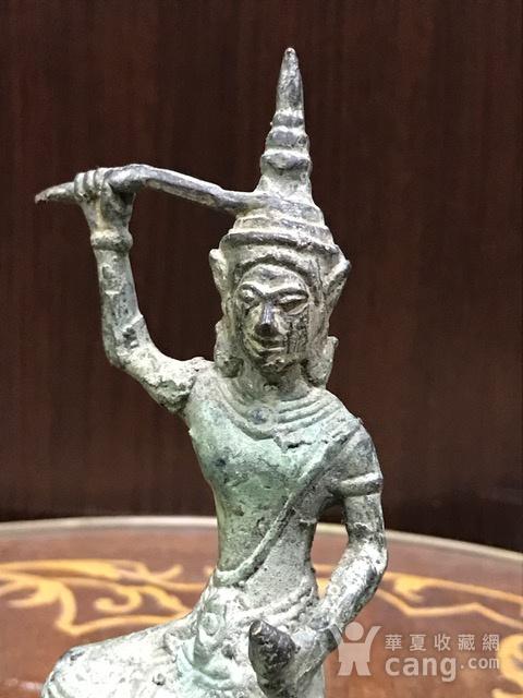 7017 十九世纪南亚造像财神图2