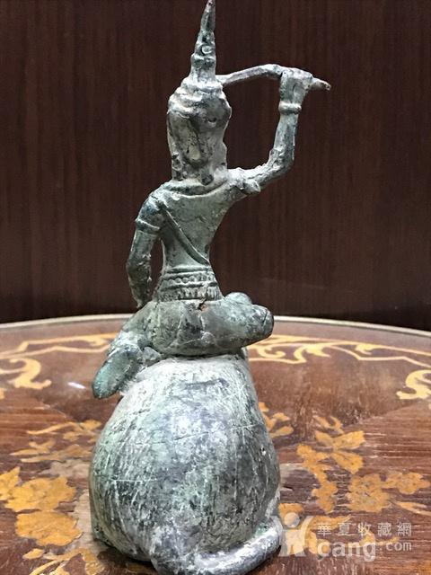 7017 十九世纪南亚造像财神图4