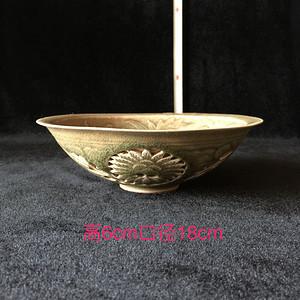 191 耀州窑雕花碗