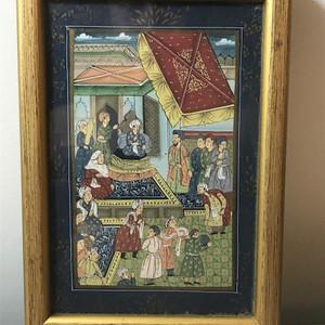 7023 印度十九世纪宫廷绘画