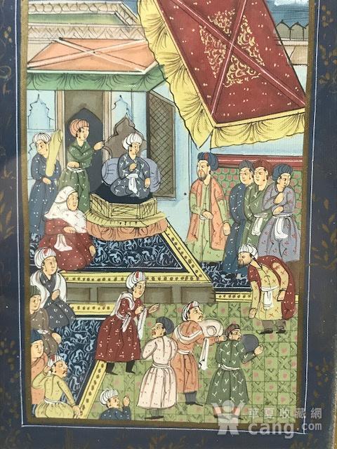 7023 印度十九世纪宫廷绘画图2