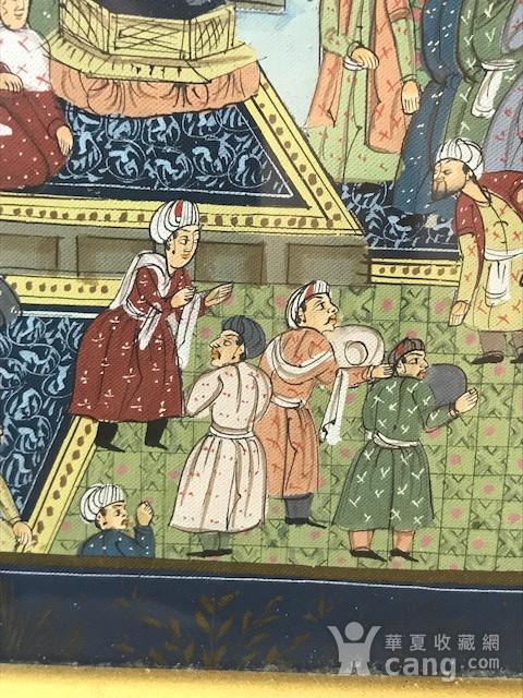 7023 印度十九世纪宫廷绘画图4