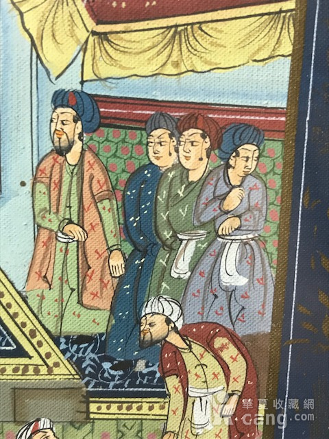 7023 印度十九世纪宫廷绘画图5
