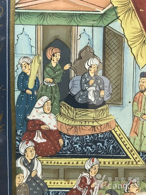 7023 印度十九世纪宫廷绘画图3
