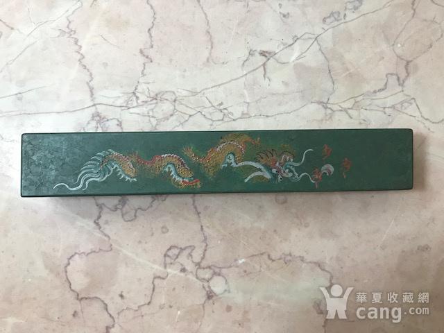 7024 民国大漆龙纹镇纸图3