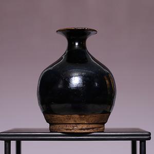 藏海淘 宋吉州窑黑釉小罐 JZ411