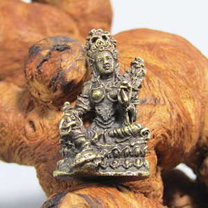 藏传老铜打造 藏佛摆件 开脸慈祥工艺细致