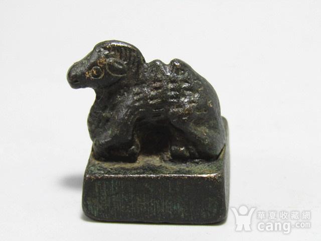 唐老铜 打造 羊钮私印 包浆厚重图3