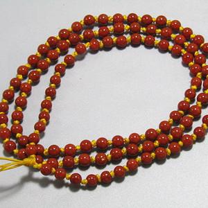 正宗保山南红玛瑙珠 项链