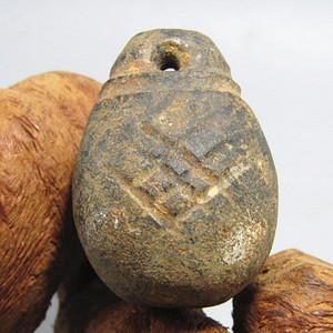 汉代石全 实权 挂件刀工古朴 包浆厚重