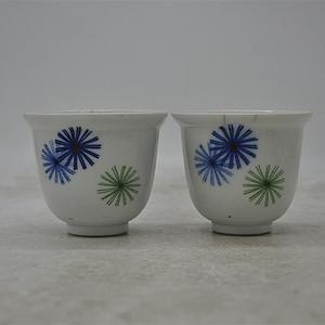 日本茶具两个 有冲