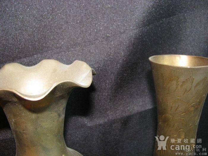 二十世纪初期欧洲回流铜花瓶两件图5