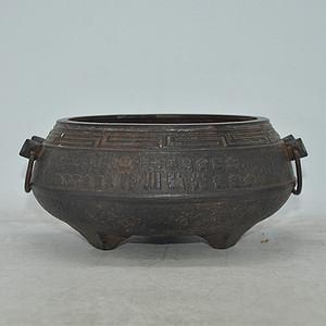 日本铸铁香炉
