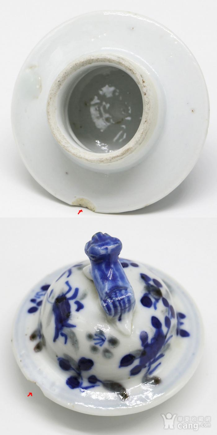 款 识:康熙年制 说 明:此件器物为青花釉里红器,纹饰生动,为三国故事