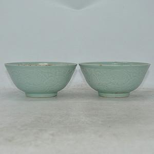 龙泉瓷碗两个