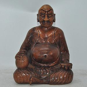 日本木雕摆件