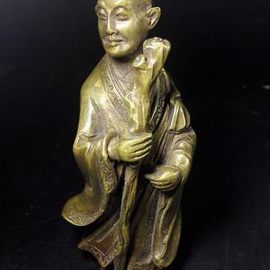 精品风磨铜造像
