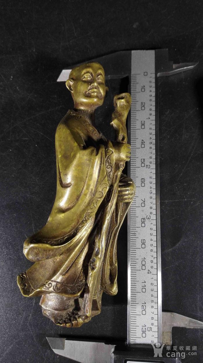精品风磨铜造像图9