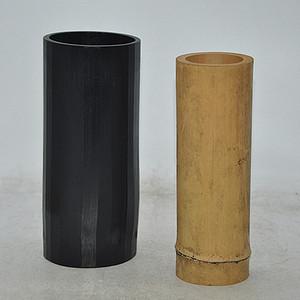 日本茶道竹筒两个