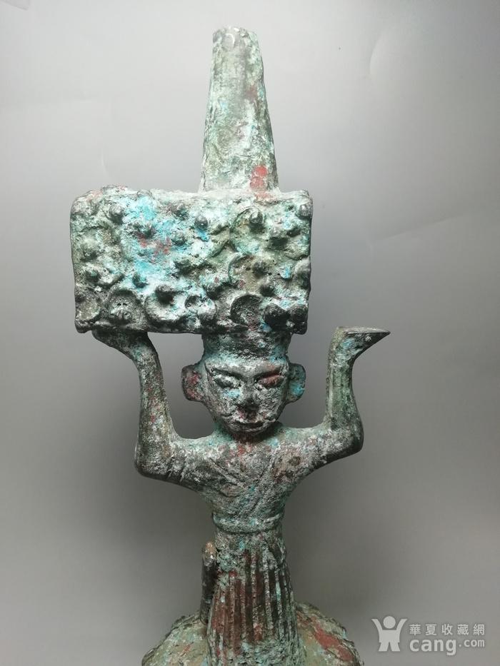 西周时期青铜灯台结构造型古朴 纹饰精美 工艺精湛图4