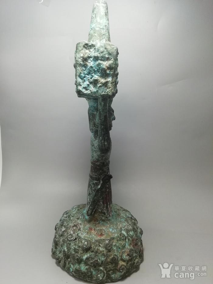 西周时期青铜灯台结构造型古朴 纹饰精美 工艺精湛图5