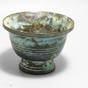 唐 老铜打造 酒盏工艺精湛 氧化自然清晰