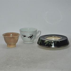瓷器皿三件