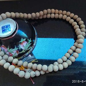 民国时期的檀香108佛珠手串珠