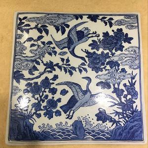海外回流花鸟瓷板