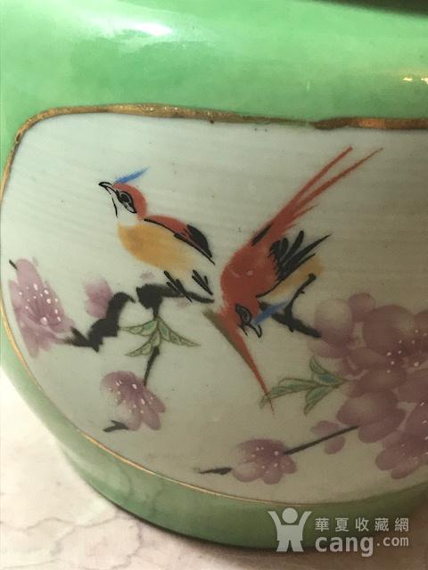 7030 民国花鸟盖罐图2