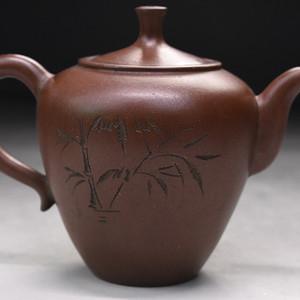 旧藏老紫砂壶