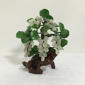 水晶葡萄花盆