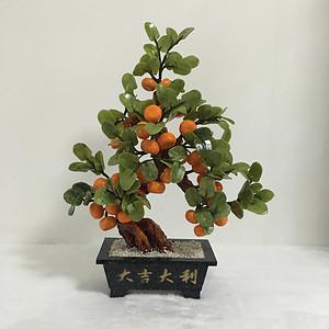 水晶橘子花盆