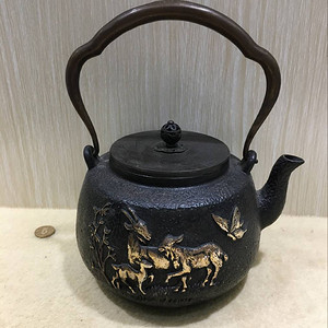 海外回流日本铁壶