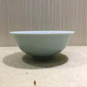 海外回流豆青釉碗