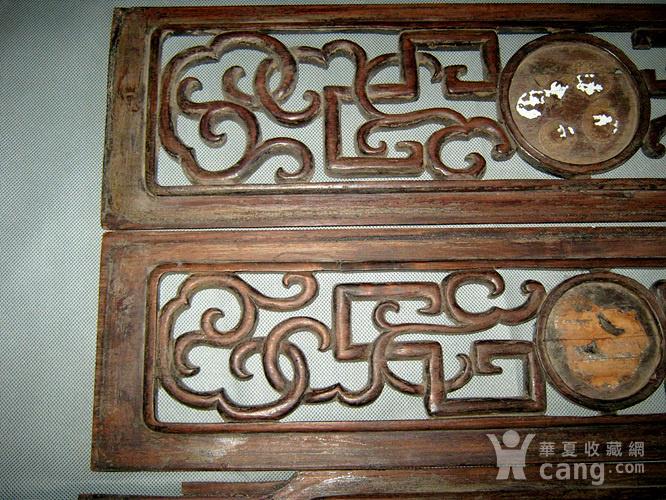 清代红木花板3块图2
