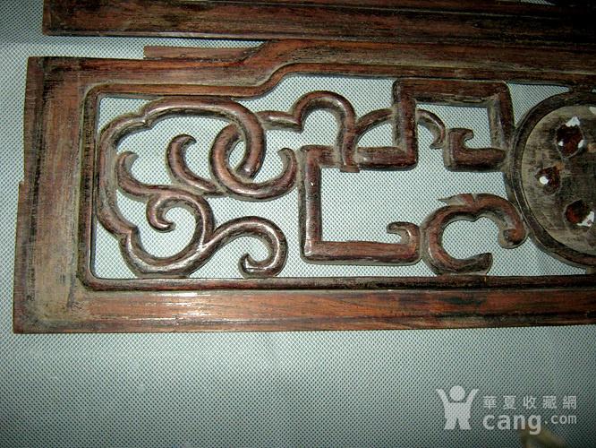 清代红木花板3块图5