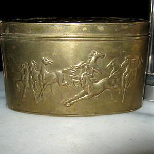 民国铜蛐蛐罐